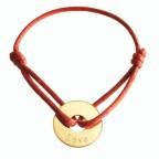 bracelet medaillle plaqué or