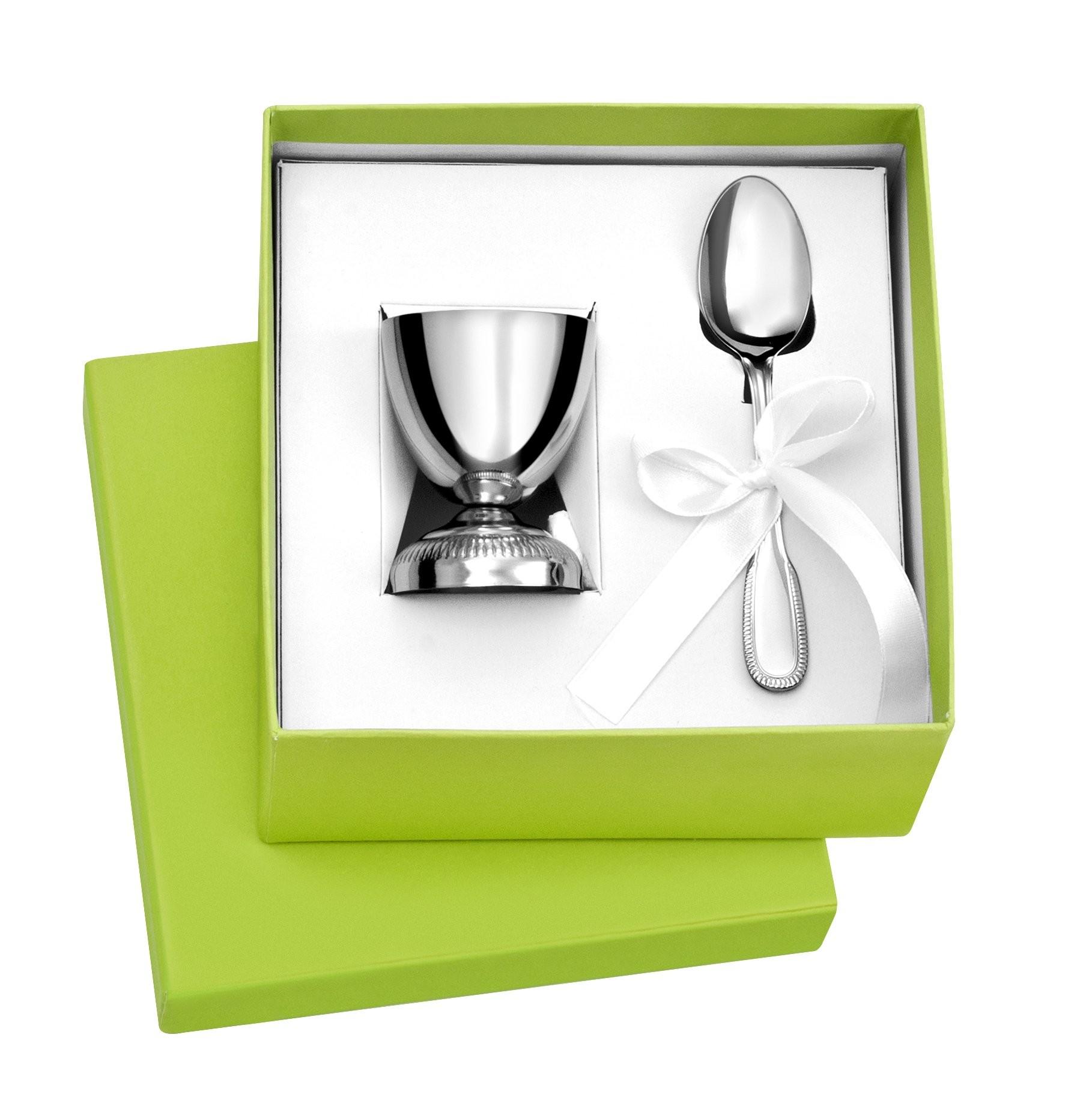 coffret cadeau coquetier et cuill re inox 1001 m dailles. Black Bedroom Furniture Sets. Home Design Ideas