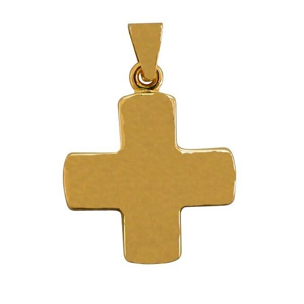 croix en or jaune 18 carats 13 mm 1 2 g 1001 m dailles. Black Bedroom Furniture Sets. Home Design Ideas