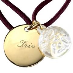 Bracelet medaille bapteme