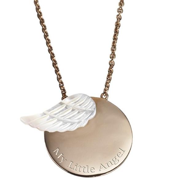 Fabuleux Pendentif ange enfant et adulte cadeau communion - 1001 médailles PE39