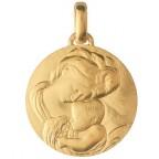 Médaille de Baptême Madone de Caravage 18 mm