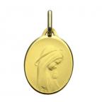 medaille bapteme ovale