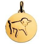 Médaille de cou dessine moi un mouton