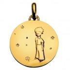 Médaille Petit prince sur sa planète