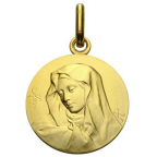 medaille vierge bapteme