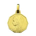 medaille exagonale