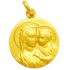 medaille bapteme fille