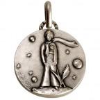 Médaille en argent Petit Prince au Renard