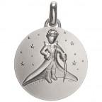 Médaille Petit Prince dans les étoiles