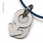 Pendentif Sex Symbol Boy en or blanc