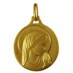 Médaille Vierge profil droit