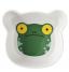 assiette grenouille